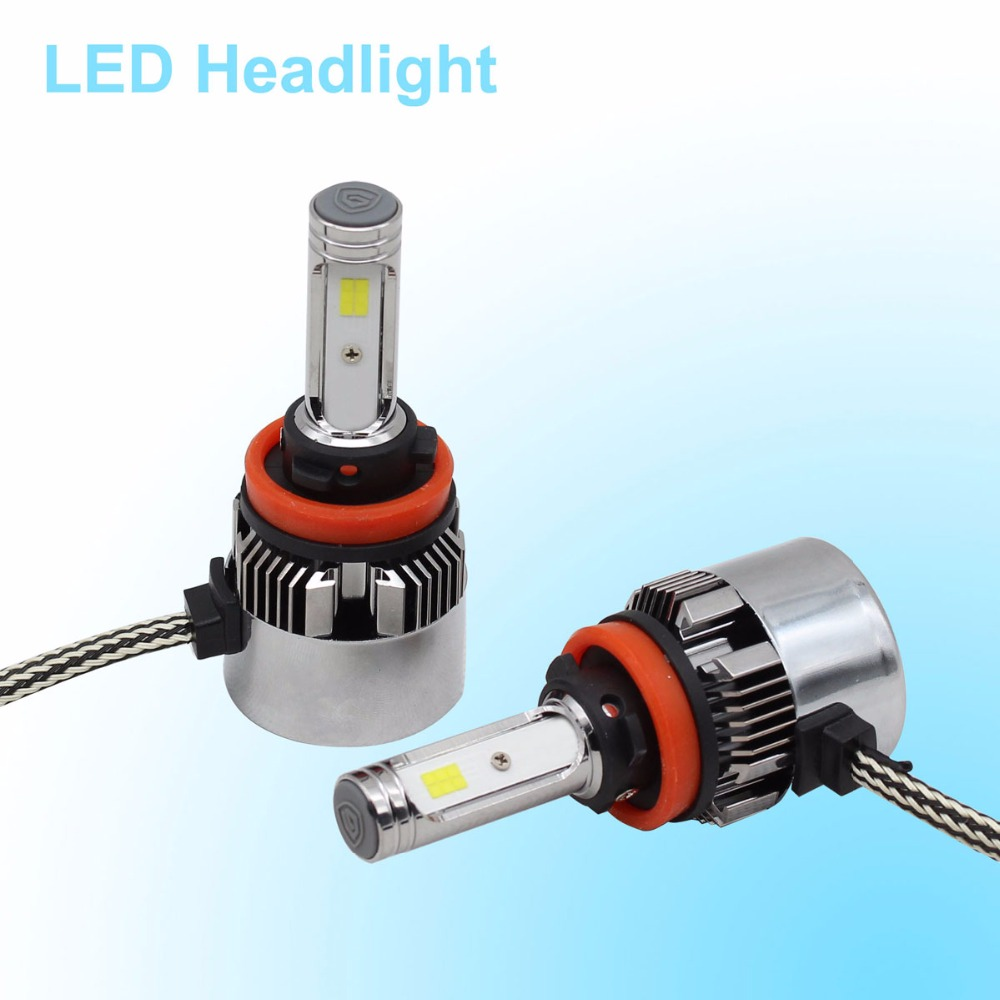 LED Headlights H1 H4 H7 H8 H9 H11 9012 9005 HB3 9006 HB4 LED Headlight Bulb Car Headlamp 100W 11600LM High Beam Light Sourcing h1 h4 h7 h8 h9 h11 9005 9006 hb3 hb4 9012 hir2 car led headlight bulbs to replace automobile halogen headlamp fog conversion kit