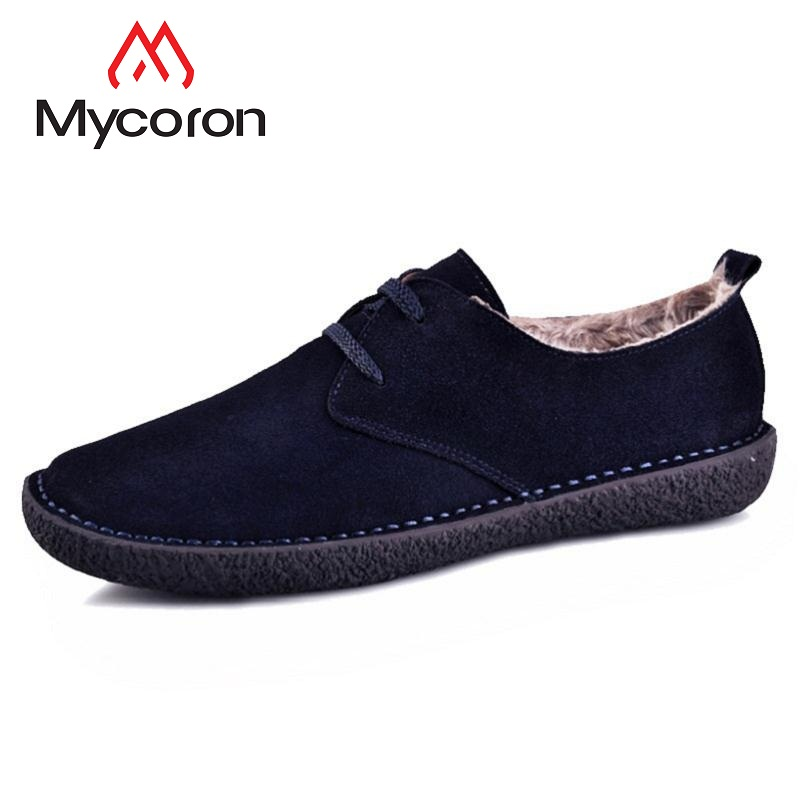 MYCORON Men Boots Denim Lace-Up Men Luxury Designers Brushed Casual Shoes New 2018 Male Footwear Tenis Masculino Adulto