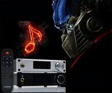 Alientek D8 Полный Чистый Цифровой Аудио Усилитель Для Наушников Вход USB/XMOS/Коаксиальный/Оптика/AUX 80 Вт * 2 24Bit/192 КГц DC28V Мощности Класса d