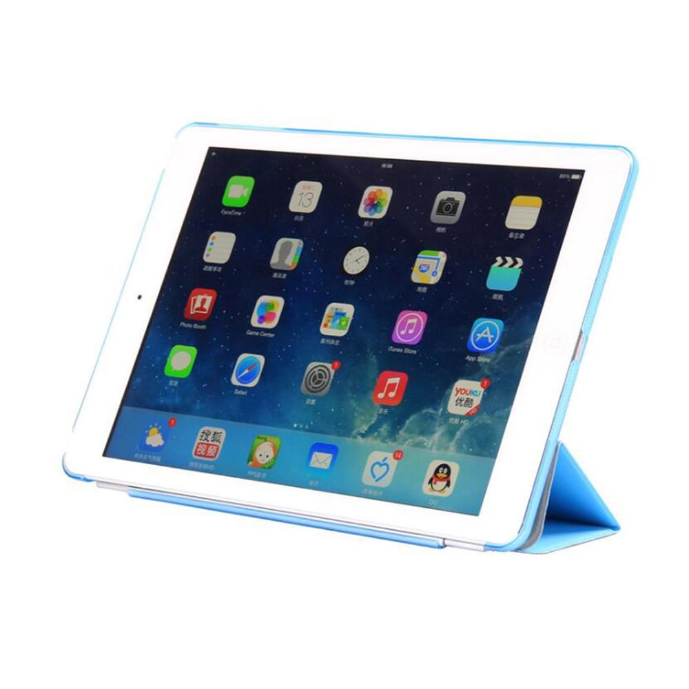 Apple iPad Hava Case PU Dəri Maqnetik Ön Ağıllı Qapaq + iPad Air - Planşet aksesuarları - Fotoqrafiya 2