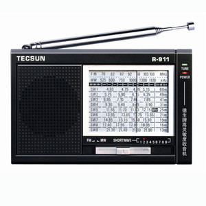 Image 1 - TECSUN R 911 AM/ FM / SM (11 bands) Multi Bands Radio Receiver Broadcast With Built In Speaker R911 radio