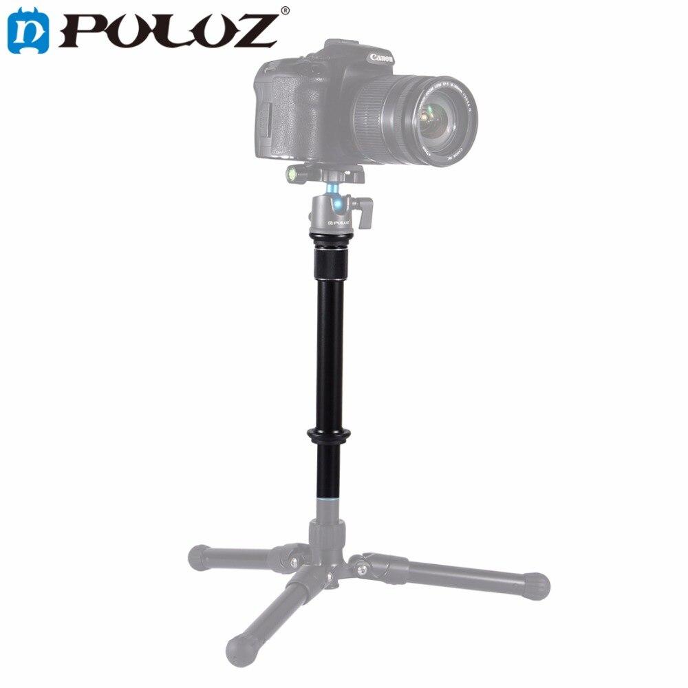 PULUZ For Camera Accessories Metal Handheld Adjustable 3/8'' Screw Tripod Mount Monopod Extension Rod for DSLR & SLR Cameras