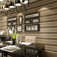 Vlakte vliesbehang verticale gestreepte behang woonkamer Slaapkamer Studie TV Muur bruiloft huis woondecoratie