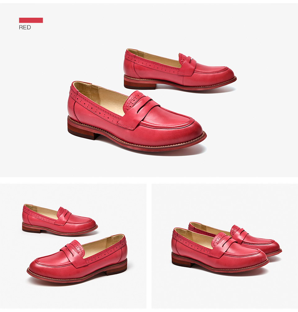 Plus Loafers Slip On 9