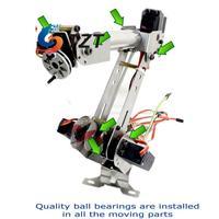 6 Axis Mechanical Robotic Arm Clamp with Servos DIY Kit for Robot Smart Car Arduino SCM DIY