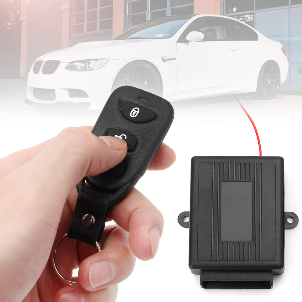 Universal Car Door Lock Vehicle Keyless Entry System Remote Central Kit w Control font b Box