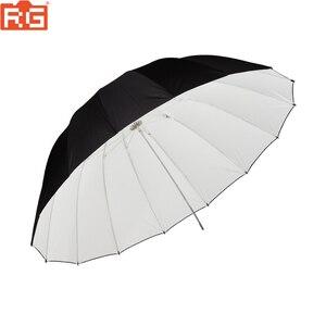 """Image 3 - GODOX sombrilla reflectora de 150CM, 60 """", negra/blanca, para fotografía de estudio, flash, para exteriores"""