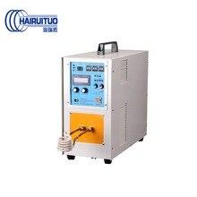 Calentador de inducción de alta frecuencia 20KW máquina de soldadura de metal oro plata cobre