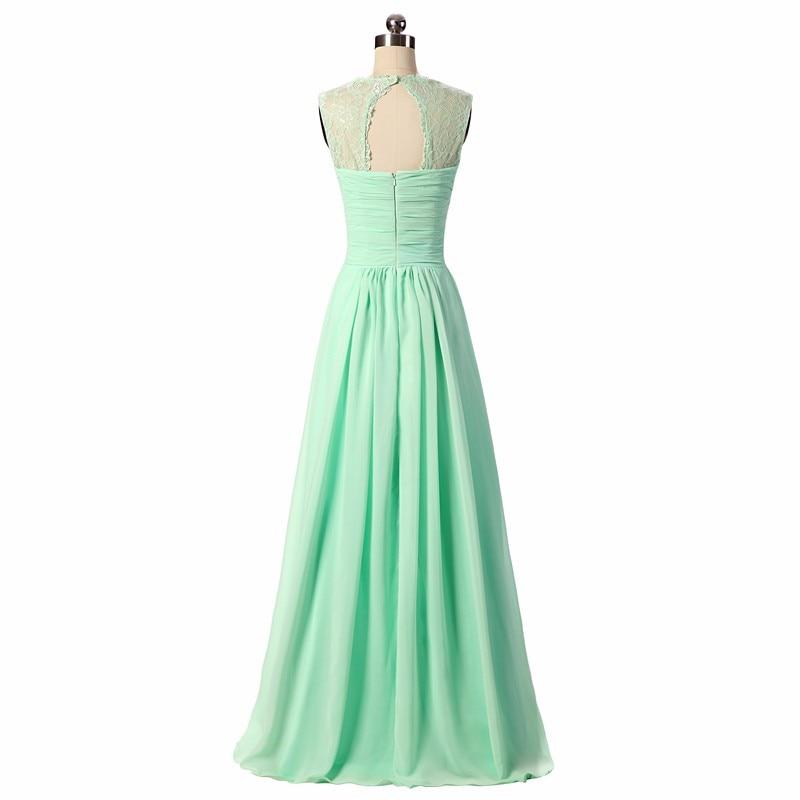 Bridesmaid Dresses 2019 Coral Burgundy Mint Navy Färg Av Skulder - Bröllopsfestklänningar - Foto 2
