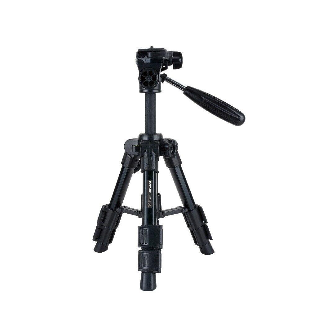 New Zomei Q100 Mini Tripod Monopod Travel Camera Accessories Photography Portable Aluminum For digital SLR DSLR cameras