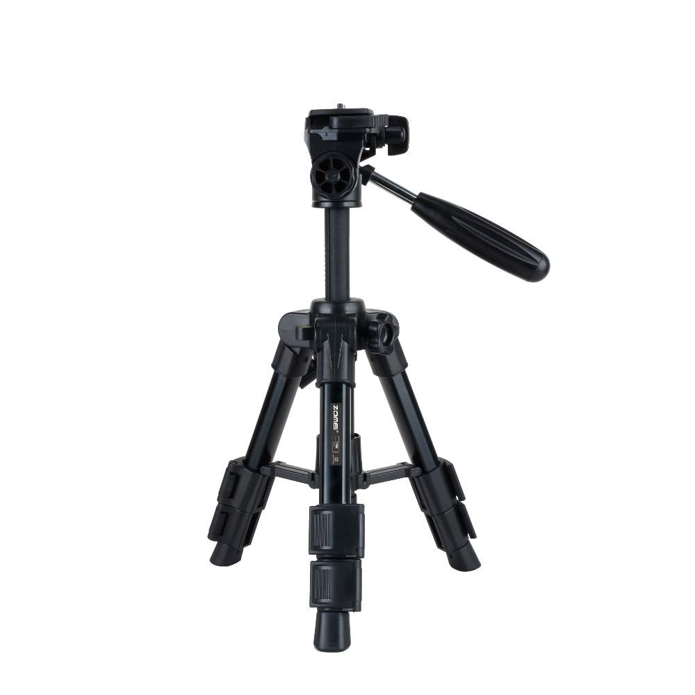 Zomei Q100 Mini Tripod Monopod Travel Camera Accessories Photography Portable Aluminum Tripod For digital DSLR cameras