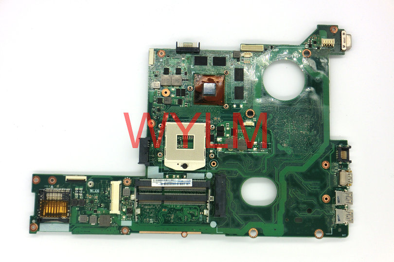 free shopping original 60-N8IMB1400 for N46VM N46VZ laptop motherboard main board mainboard REV 2.3 WITH GT630M GPU 100% Tested free shipping new brand original u35j u35jc laptop motherboard u35jc main board 60 n0smb1600 a05 with i3 380m cpu 100% tested
