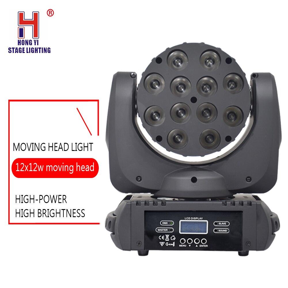 LED Beam Moving Head 12X12W 4In1 High Brightness LED Moving Head Beam Stage LightLED Beam Moving Head 12X12W 4In1 High Brightness LED Moving Head Beam Stage Light