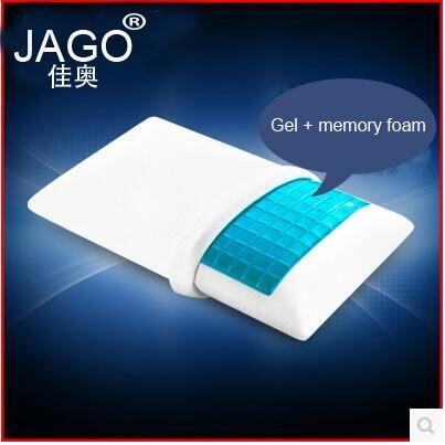 Качественная гелевая Подушка JAGO 70*41*14 см, Ортопедическая подушка с эффектом памяти для сна, удобная гелевая Подушка с эффектом памяти для кр