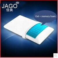 JAGO 70*41*14 CM Quality Gel Pillow Memory Foam Orthopedic Sleep Blue Cooling Comfortable Gel Bed Memory Foam Pillow