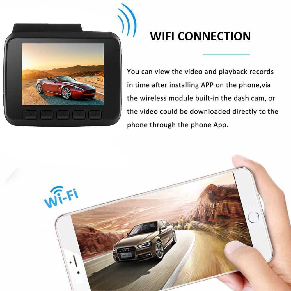 Bluavido 4 к автомобильный dvr Full HD 2160 P ночное видение видео камера регистраторы gps Logger Новатэк 96660 автомобиль 1080 Dashcam Wi Fi мониторы