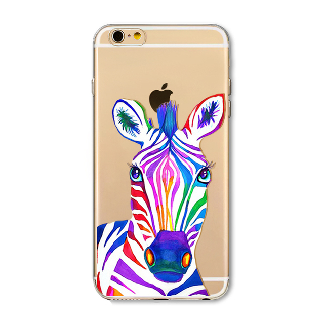 Animal Cute Cartoon Phone Case For Iphone 6 6s 6Plus 7 7s 7plus