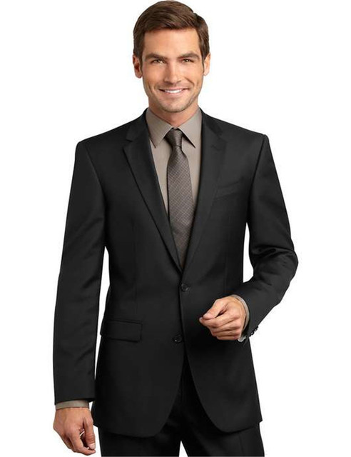 Fashion Color Notch Lapel Two Buttons Black Gent Wedding Clothing tuxedos terno men suit latest coat pant designs costume homme