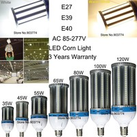 HIGH POWER 100W LED Corn Light SMD5630,LED Canopy/Flood/Superstore/Post Top/Tunnel Lamp, E26/E27/E39/E40, Clear/Frosted PC Cover