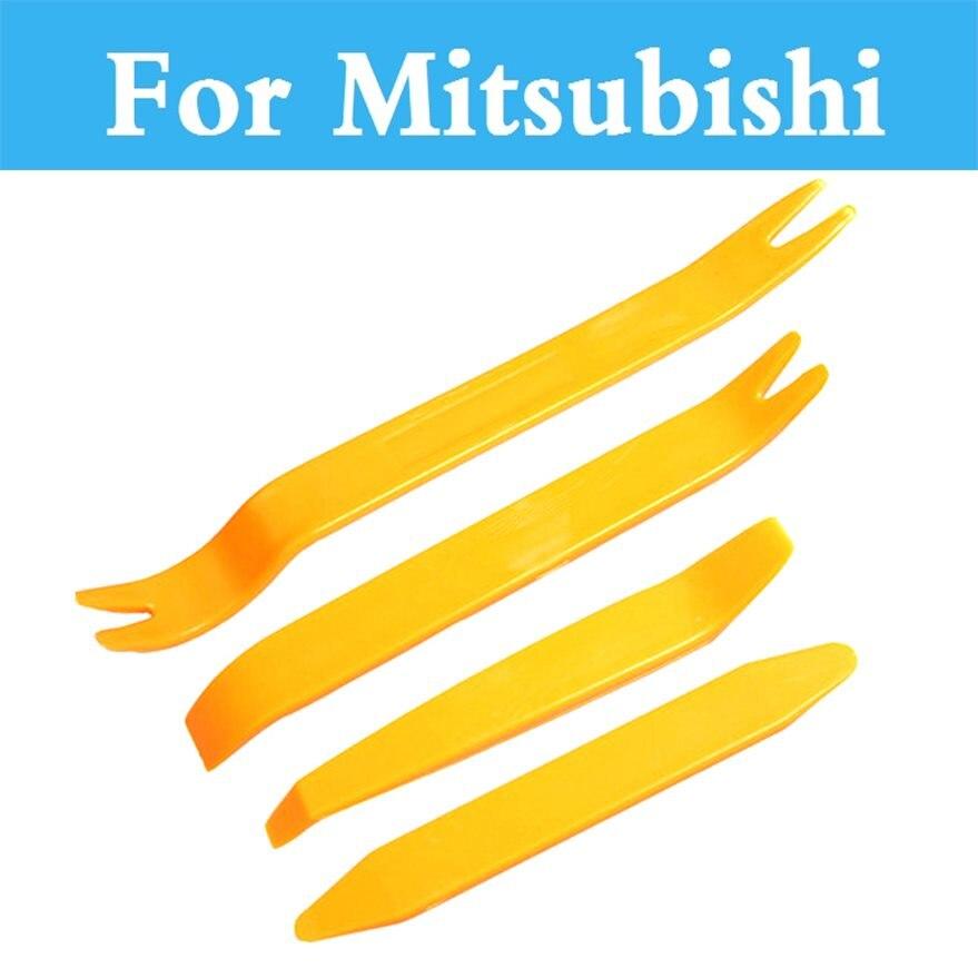 Car Radio Door Clip Panel Trim Dash Removal Pry Tool For Mitsubishi Carisma Challenger Colt Eclipse Ek Endeavor Airtrek Asx