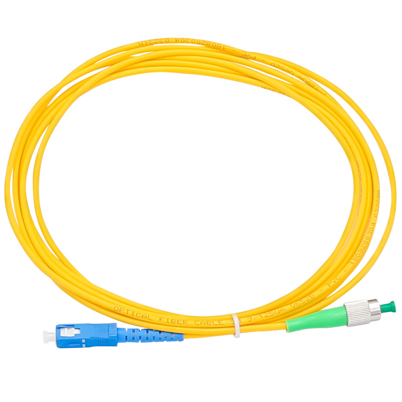 10PCS/lot Fiber Optic Jumper Cable FC/APC-SC/UPC Fiber Optic Patch Cord Free Shipping