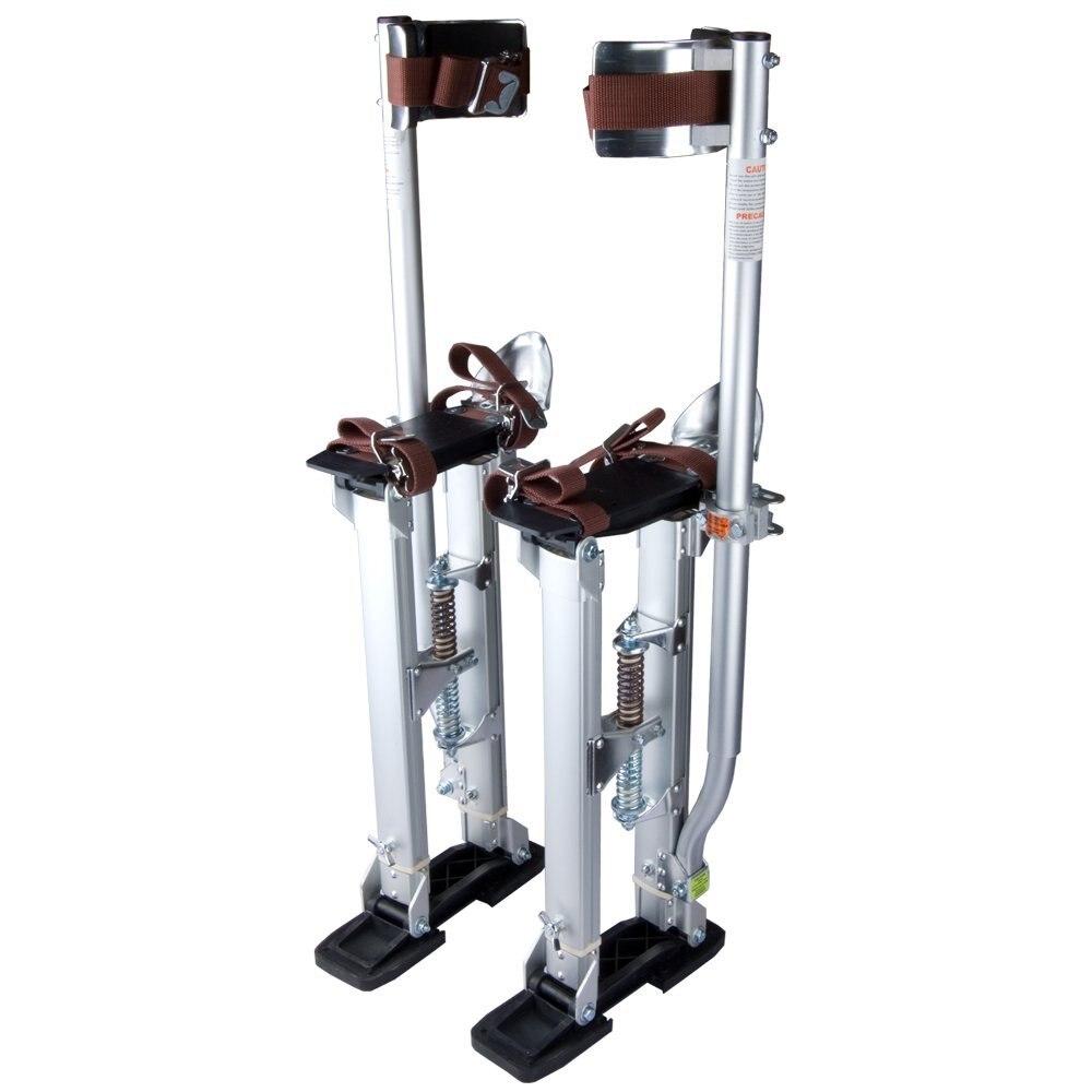Plata De Grado Profesional Ajustable Drywall Stilts Taping Pintura Stilt Aluminio 24