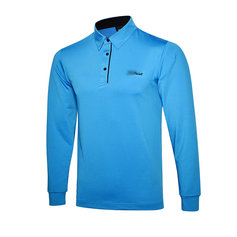 New golf clothing men long-sleeve Golf sport clothes POLO S-XXL 5 colors golf T-shirt Free shipping TA7118