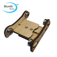3D Printer Parts DIY Reprap Prusa Printrbot Adjustable Spool Coaster 3D Printer Filament Holder Wooden Spool