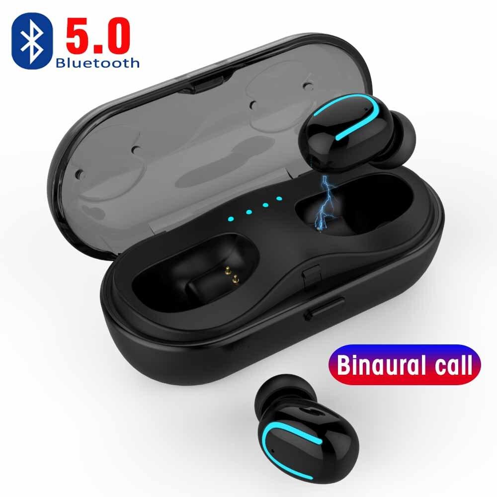 29a1ea0ccd5 Invisible 5,0 auriculares Bluetooth Mini auricular Bluetooth Q13S TWS inalámbrica  Auriculares auriculares con 6 horas de música fácil sincronización ...