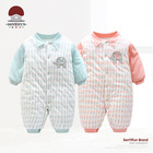 winter jumpsuit baby newborn snowsuit toddler baby boy clothes 0 3 months newborn cotton coveralls romper little girls clothing
