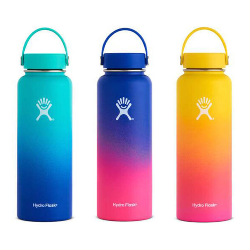Portable Thermal Cup Vacuum Flask Bottle Stainless Steel Heat Insulation Drink Bottle Thermos Drinkware C1051 D(China)
