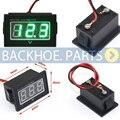 Автоматический измерительный прибор Цифровой вольтметр светодиодный Водонепроницаемый монитор 12 В Батарея метр 2 7-30 В DC