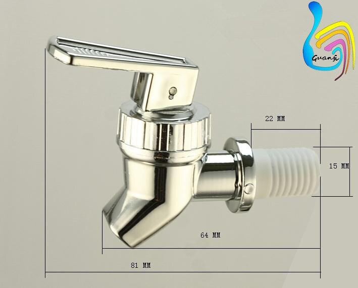 GJ 150 water dispenser faucet plastic tap for bottle-in Water ...
