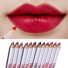 Easy to Wear Lip Liner Set Waterproof Lip Liner Pencil Makeup Lip Beauty