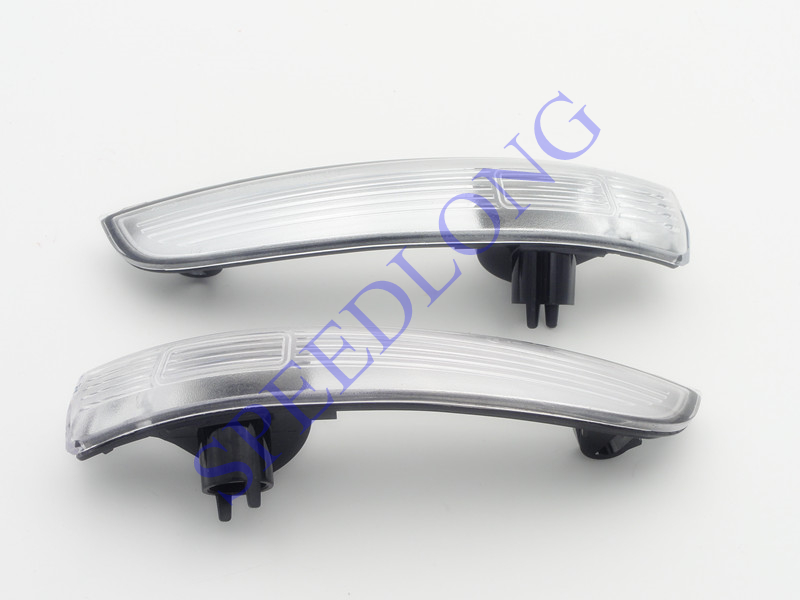 2 Pcs/Pair RH and LH Without Bulbs door mirror lights lamps for Ford Escape/Kuga 2013 2 pcs pair rh and lh door mirror lights lamps turn signals for ford f150 lower configuration 2015 2016