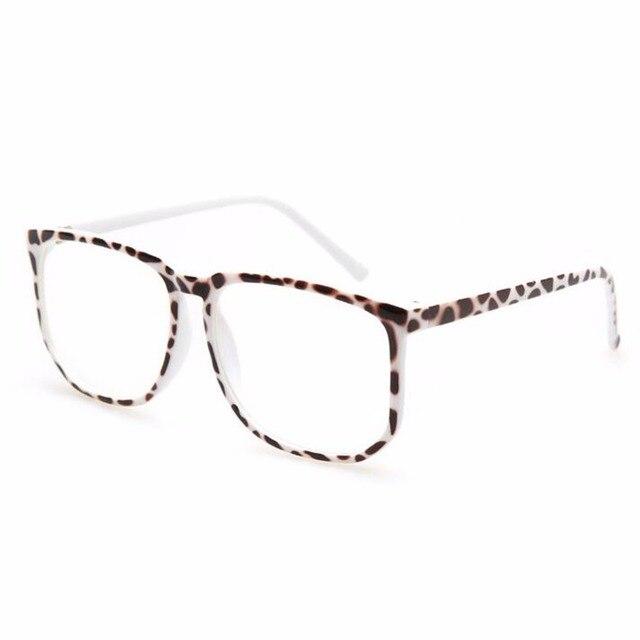 d083ba7fe2 Glasses Oversized Nerd Eyewear Clear Lens glasses UV Protection Anti Blue  light Square Round Unisex Men Women Computer Eyeglass