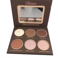 In Stock 2016  DIOW Chocolate illuminator Contour Kit  Birthday Edition Face Bronzer&Highlighter Contour Makeup Palette