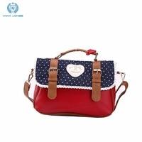 ANNA JONES 2017 small mini handbag should bag cross body bag for women handbags online shopping vintage handbags LT584T Red