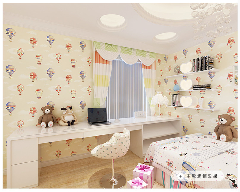 beibehang Children boys and girls warm bedroom study nonwoven papel de parede 3d wallpaper abc match wall paper hot air balloon beibehang fashion nonwoven personality tv background wall paper 3d simple modern bedroom warm papel de parede wallpaper behang