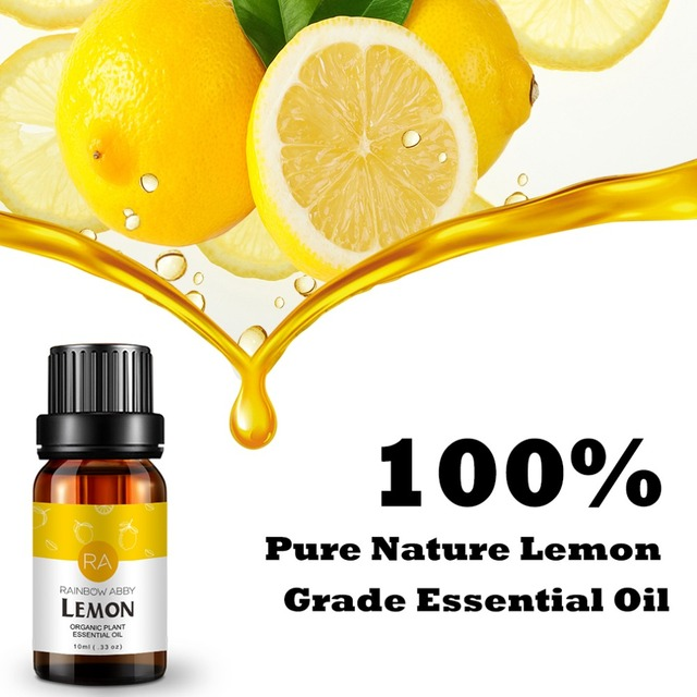 Essential Oils 100% Pure Natural 10ml Glass Bottle For Diffuser Burner Diffusor hair care eucalyptus bio oil massage Sandalwood