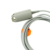 Reutilizável Adulto Sensor de Dedo Clipe SpO2 Sensor De Oxímetro, Novametrix Compatível 505/510/511 Ajuste para Homens e mulheres