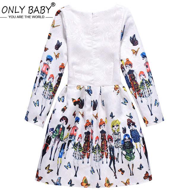 7a5b35932ea placeholder Bébé fille vêtements hiver automne à manches longues enfants  robe de fête Elsa robes élégantes pour
