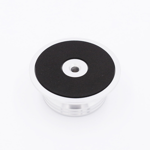 Image 3 - חדש פחמן סיבי אלומיניום סגסוגת LP ויניל פטיפונים מתכת דיסק מייצב שיא משקל/מהדק HiFi