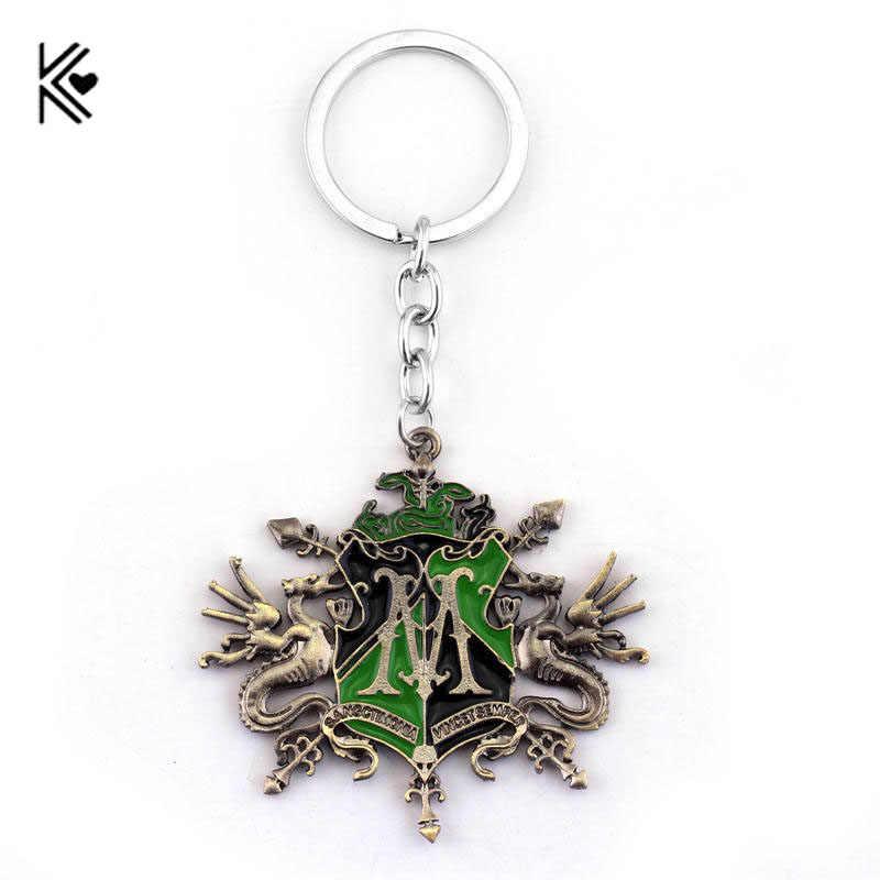 มาใหม่ขนาด: 5.9*5 ซม.Antique Bronze Enamel พวงกุญแจคุณภาพสูงคลาสสิก M ผู้หญิงและผู้ชายคีย์โซ่แหวนของขวัญแฟชั่น