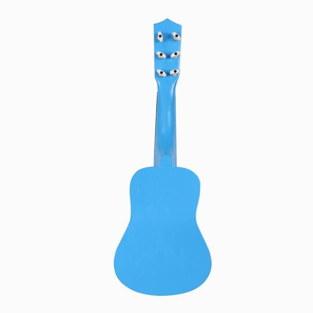 Hedendaags SOACH Klassieke gitaar nieuwe Blauw Kikker patroon 6 string GM-63