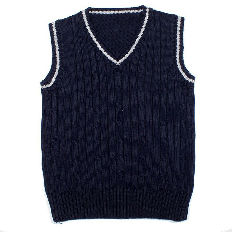 46e174d77d86 Baby Waistcoat Sleeveless Sweaters for Boys Kids Knitted Sweaters ...