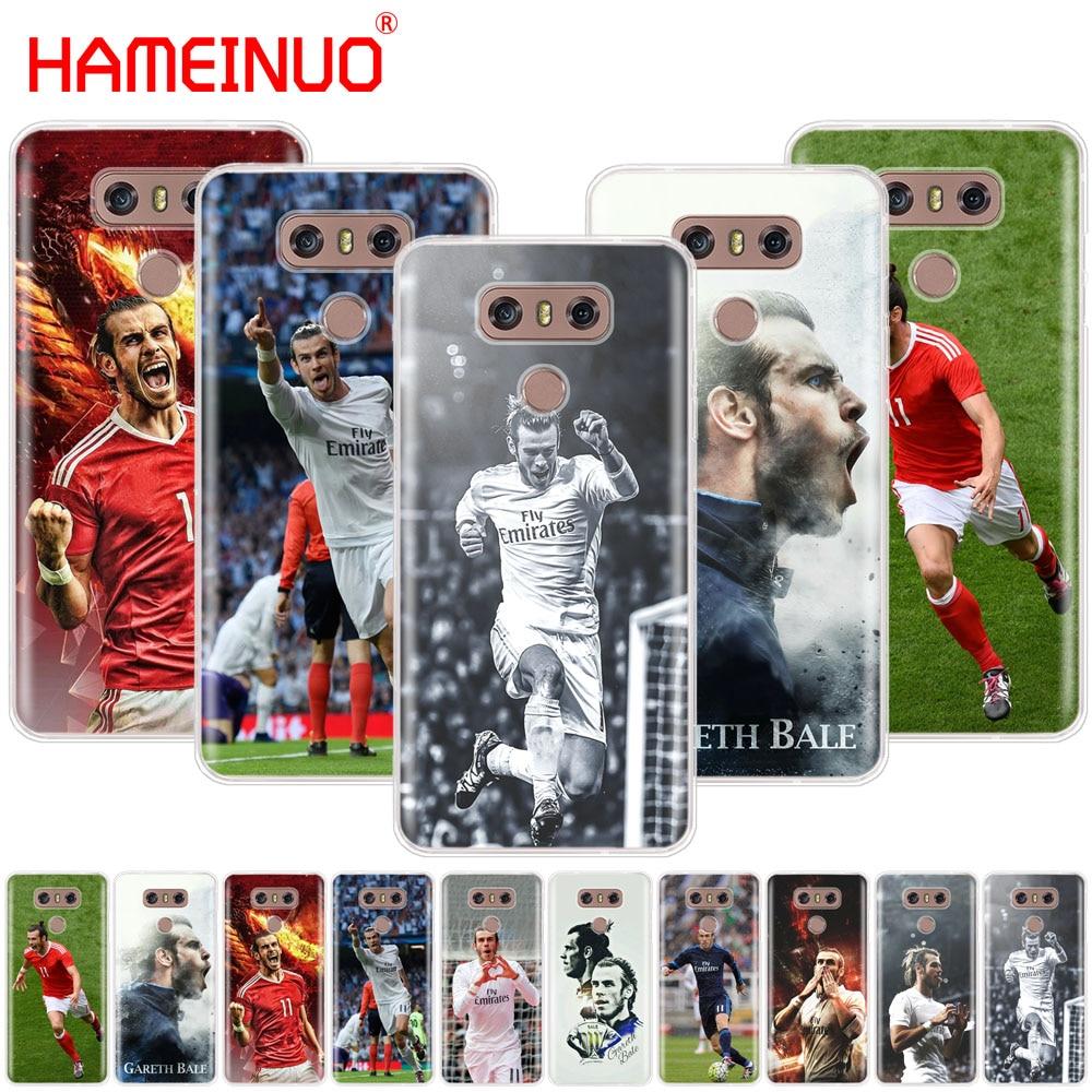 HAMEINUO Gareth Bale case phone cover for LG G7 Q6 G6 MINI G5 K10 K4 K8 2017 2016 X POWER 2 V20 V30 2018