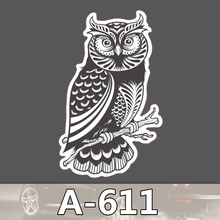 A 611 Owl Waterproof Cool DIY Stickers For Laptop Luggage Fridge Skateboard Car Graffiti Cartoon Sticker
