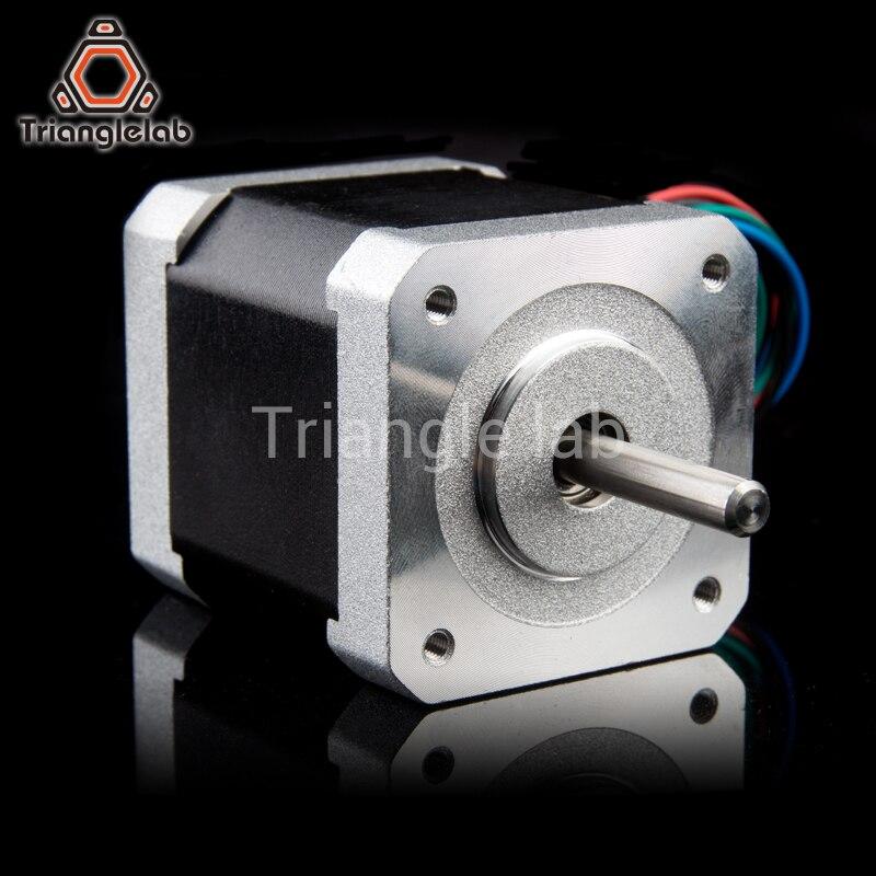 1PCS trianglelab Custom NEMA17 0 9 Stepper Motor L48MM for TITAN Extruder  AQUA for 3D printer EXtruder 1 68A