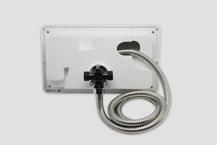 rv outdoor shower faucet black exterior shower box kit for rv